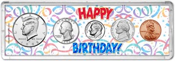 1995 Happy Birthday Coin Gift Set THUMBNAIL