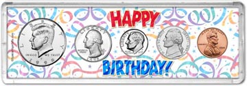 1998 Happy Birthday Coin Gift Set THUMBNAIL