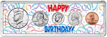 1999 Happy Birthday Coin Gift Set THUMBNAIL