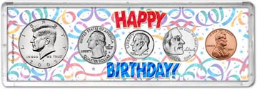 2005 Happy Birthday Coin Gift Set THUMBNAIL
