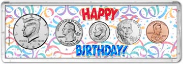 2009 Happy Birthday Coin Gift Set THUMBNAIL