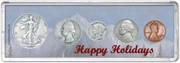1938 Happy Holidays Coin Gift Set THUMBNAIL