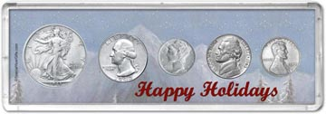 1943 Happy Holidays Coin Gift Set THUMBNAIL