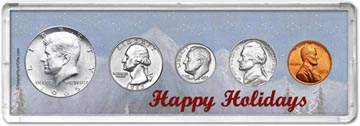 1965 Happy Holidays Coin Gift Set THUMBNAIL
