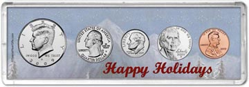 2009 Happy Holidays Coin Gift Set THUMBNAIL