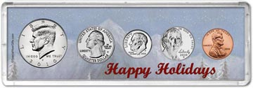 2010 Happy Holidays Coin Gift Set THUMBNAIL