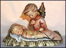 Angelic Sleep, M. I. Hummel Candle Holder MAIN