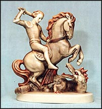 Saint George, M. I. Hummel Figurine MAIN