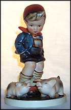 Farm Boy, M. I. Hummel Figurine