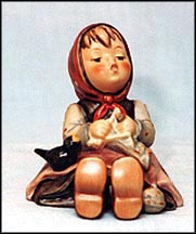 Happy Pastime, M. I. Hummel Figurine