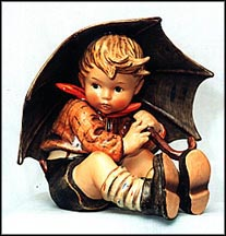 Umbrella Boy, M. I. Hummel Figurine
