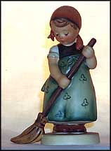 Little Sweeper, M. I. Hummel Figurine MAIN