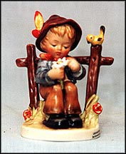 She Loves Me, She Loves Me Not!, M. I. Hummel Figurine