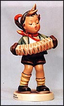 Accordion Boy, M. I. Hummel Figurine