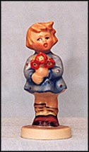 Girl With Nosegay, M. I. Hummel Ornament MAIN