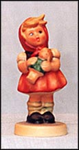 Girl With Doll, M. I. Hummel Figurine MAIN