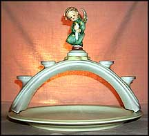 Angel Lights, M. I. Hummel Candle Holder