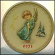 1971 Heavenly Angel, M. I. Hummel Annual Plate