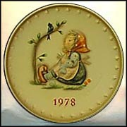 1978 Happy Pastime, M. I. Hummel Annual Plate