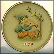 1979 Singing Lesson, M. I. Hummel Annual Plate