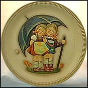 1975 Stormy Weather, M. I. Hummel Anniversary Plate