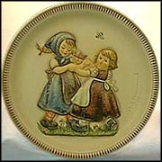 1980 Ring Around The Rosie, M. I. Hummel Anniversary Plate