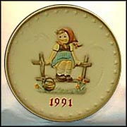 1991 Just Resting, M. I. Hummel Annual Plate