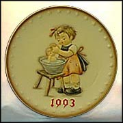 1993 Doll Bath, M. I. Hummel Annual Plate
