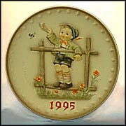 1995 Come Back Soon, M. I. Hummel Annual Plate