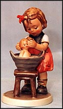 Doll Bath, M. I. Hummel Figurine MAIN