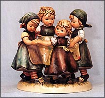 Ring Around The Rosie, M. I. Hummel Figurine