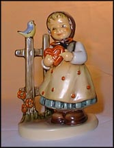 Sweet Greetings, M. I. Hummel Figurine MAIN