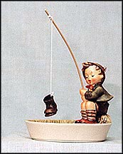 Just Fishing, M. I. Hummel Figurine