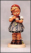 Daisies Don't Tell, M. I. Hummel Figurine