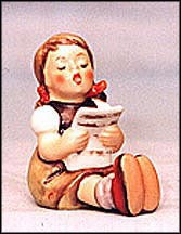 Girl With Sheet Music, M. I. Hummel Figurine