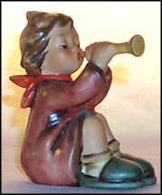 Girl With Trumpet, M. I. Hummel Figurine