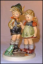 Timid Little Sister, M. I. Hummel Figurine