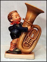 Tuba Player, M. I. Hummel Figurine