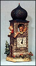 Call To Worship, M. I. Hummel Clock