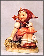 In The Meadow, M. I. Hummel Figurine