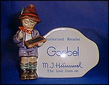 Dealer Plaque (U.S.), M. I. Hummel Plaque