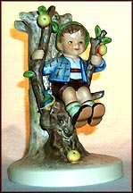 Apple Tree Boy, M. I. Hummel Candle Holder