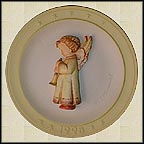 1998 Echoes Of Joy, M. I. Hummel Christmas Plate MAIN