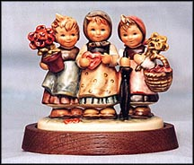 Trio Of Wishes, M. I. Hummel Figurine