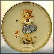 Daisies Don't Tell, M. I. Hummel Celebration Plate