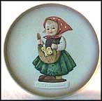 Chicken Licken, M. I. Hummel Mini Plate
