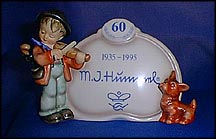 Puppy Love, M. I. Hummel Plaque