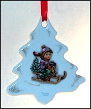 Ride Into Christmas Tree, M. I. Hummel Ornament MAIN