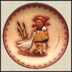 Goose Girl, M. I. Hummel Mini Annual Plate