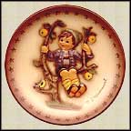 Apple Tree Boy, M. I. Hummel Mini Annual Plate